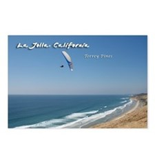 La Jolla, Torrey Pines Postcards (Package of 8)