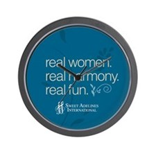 Real Women Wall Clock