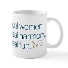 Real Women Small Mug