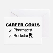 Pharmacist Career Goals - Rockstar Greeting Cards