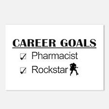 Pharmacist Career Goals - Rockstar Postcards (Pack