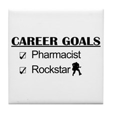 Pharmacist Career Goals - Rockstar Tile Coaster