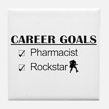 Pharmacist Career Goals - Rockstar Tile Coaster