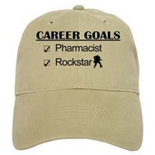 Pharmacist Career Goals - Rockstar Baseball Cap