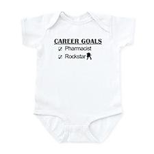 Pharmacist Career Goals - Rockstar Infant Bodysuit