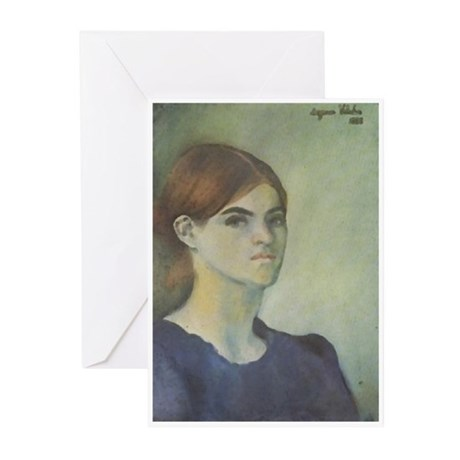 Self-Portrait, 1883 Greeting Cards (Pk of 20)