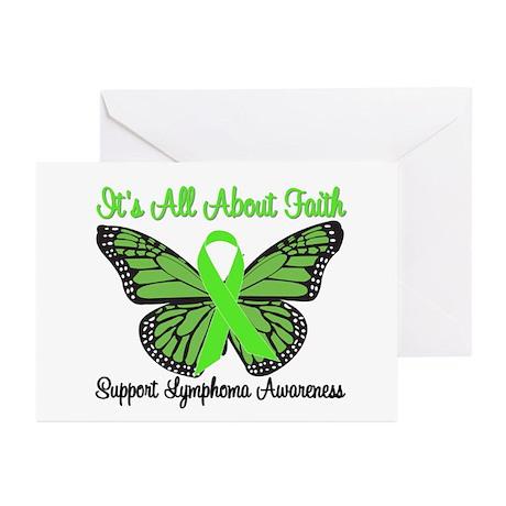 Faith Lymphoma Greeting Cards (Pk of 10)