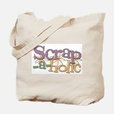 Scrap-a-holic Tote Bag