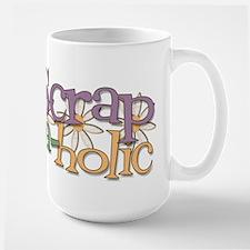 Scrap-a-holic Large Mug