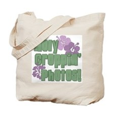 Holy Croppin' Photos Tote Bag