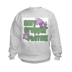 Holy Croppin' Photos Sweatshirt