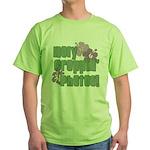 Holy Croppin' Photos Green T-Shirt