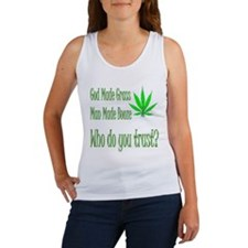 God made pot Women's Tank Top