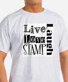 Live Love STAMP T-Shirt