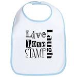 Live Love STAMP Bib