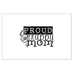 Proud Scrappy Mom Posters