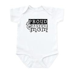 Proud Scrappy Mom Infant Bodysuit