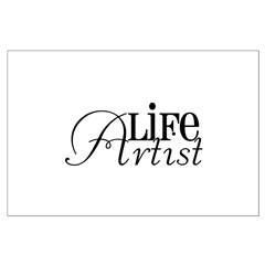 Life Artist Posters