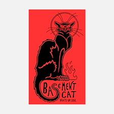 Basement Cat Wants ur Soul - Decal