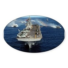 USS Kearsarge - LHD 3 Oval Decal