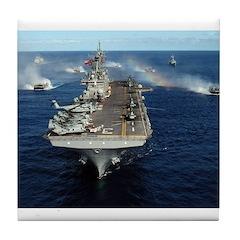 USS Kearsarge - LHD 3 Tile Coaster