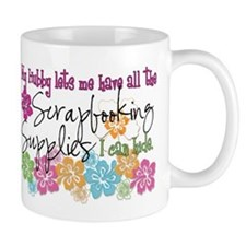 Scrapbooking Supplies I can H Mug