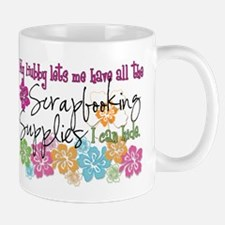 Scrapbooking Supplies I can H Small Mugs