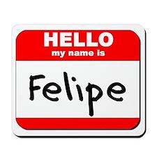 Hello my name is Felipe Mousepad