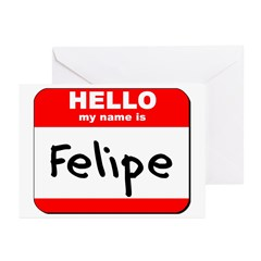 Hello my name is Felipe Greeting Cards (Pk of 10)