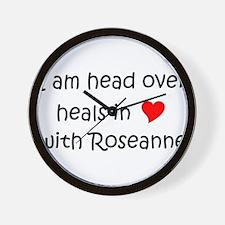 Funny Roseanne Wall Clock
