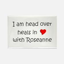 Cute Roseanne Rectangle Magnet