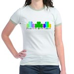 Proud To Be Of Irish Descent Jr. Ringer T-Shirt