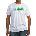 Proud To Be Of Irish Descent Fitted T-Shirt