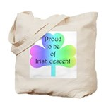 Proud To Be Of Irish Descent Tote Bag