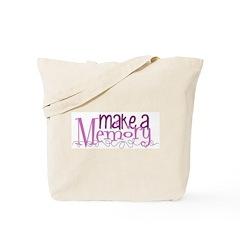 Make a Memory Tote Bag