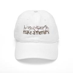 Make a memory 2 Baseball Cap