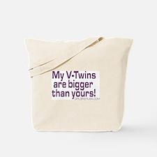 """My V-Twins"" Tote Bag"