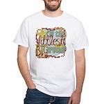 Littlest Big Brother White T-Shirt