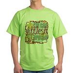 Littlest Big Brother Green T-Shirt