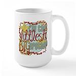 Littlest Big Brother Large Mug
