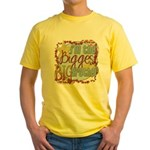 Biggest Big Brother Yellow T-Shirt