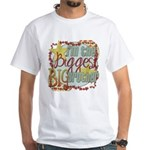 Biggest Big Brother White T-Shirt