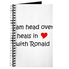 Funny I love ronald reagan Journal