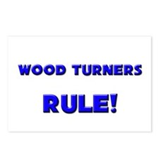 Wood Turners Rule! Postcards (Package of 8)