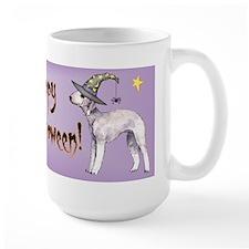 Halloween Bedlington Terrier Mug
