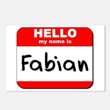 Hello my name is Fabian Postcards (Package of 8)