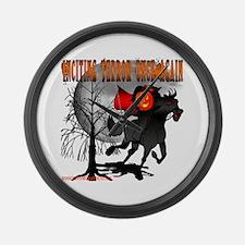 Headless Horseman Large Wall Clock