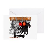 Headless horseman Greeting Cards (10 Pack)