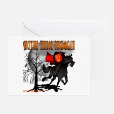 Headless Horseman Greeting Cards (Pk of 10)
