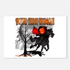 Headless Horseman Postcards (Package of 8)